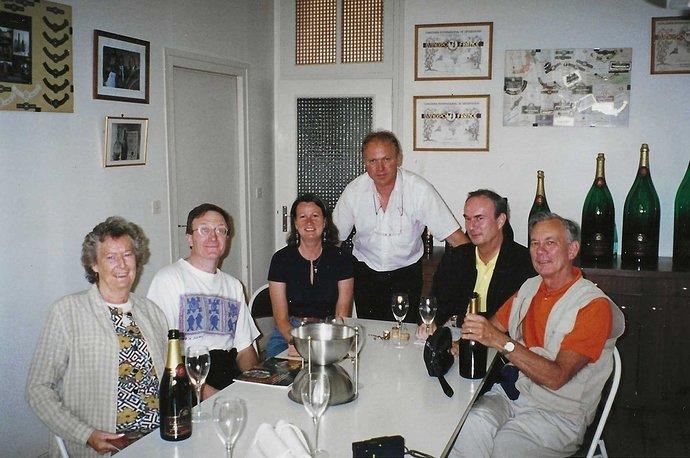 tasting at gratien 1999-06