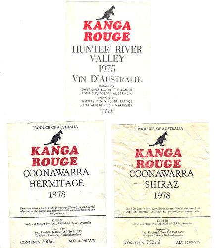 Kanga Rouge labels