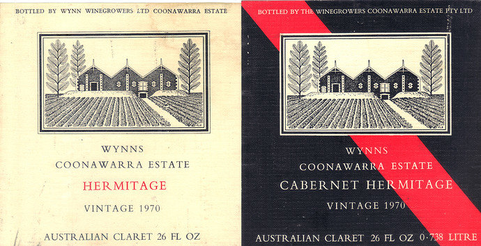 Wynns wine labels