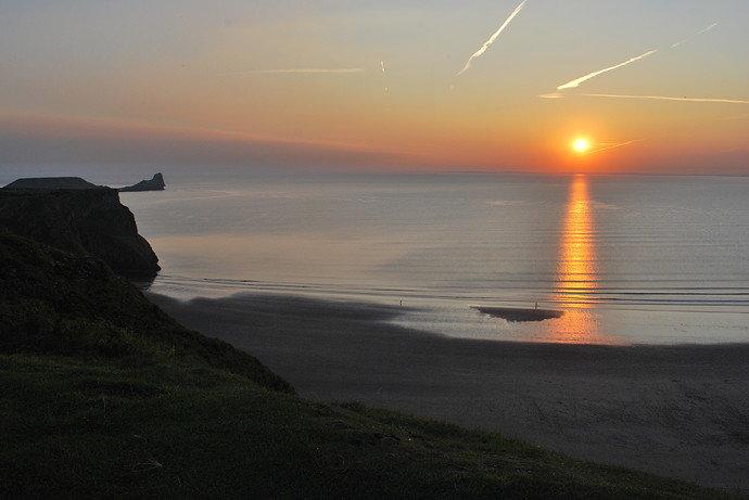 Rhossili_sunset_1