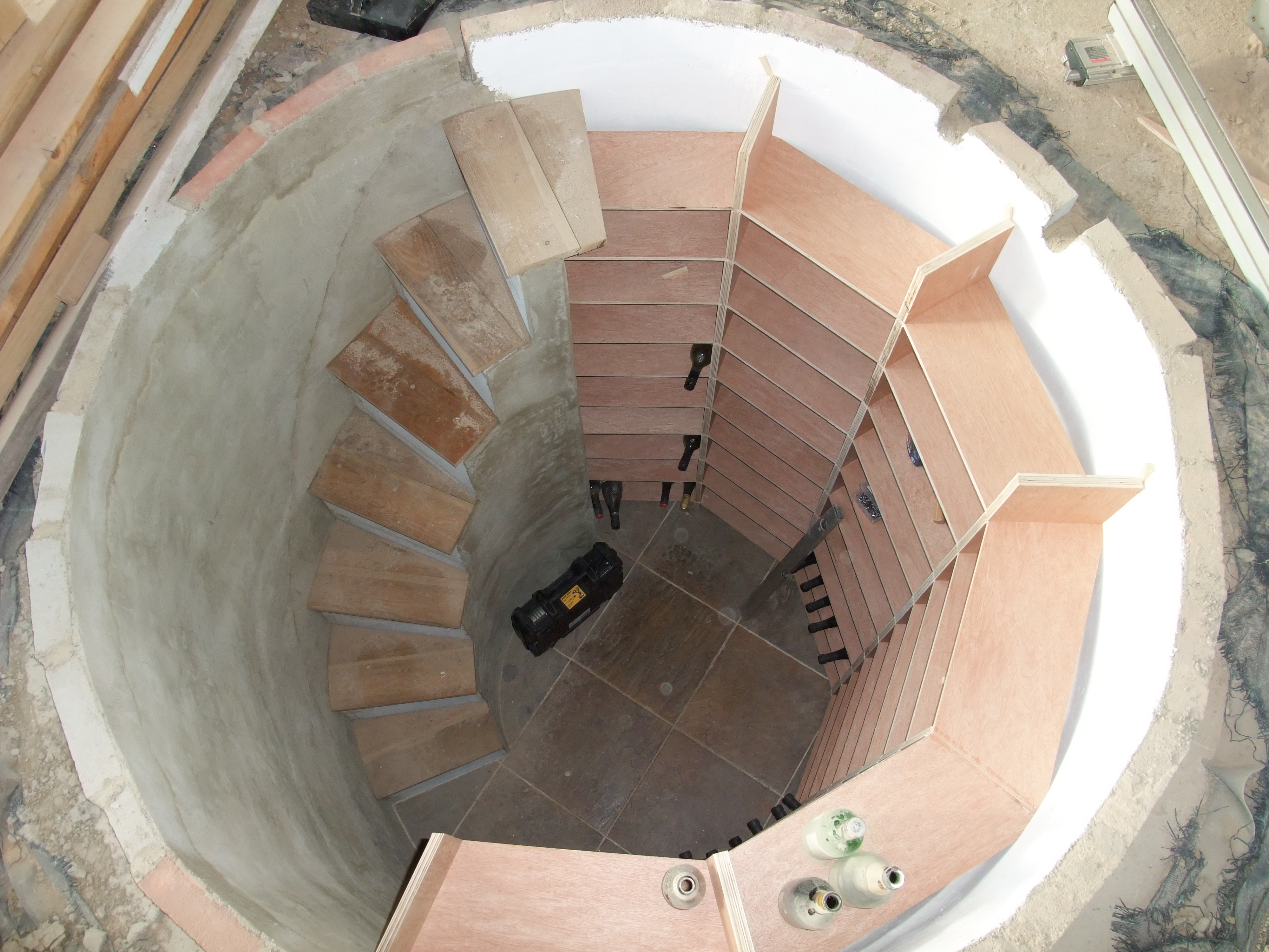 Build Your Own Spiral Wine Cellar Home Amp Lifestyle The