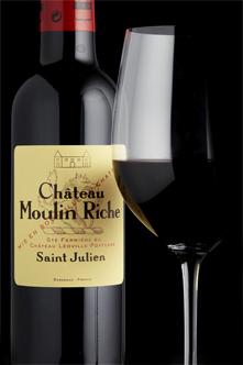 Ch Moulin Riche 2010 St Julien Halves
