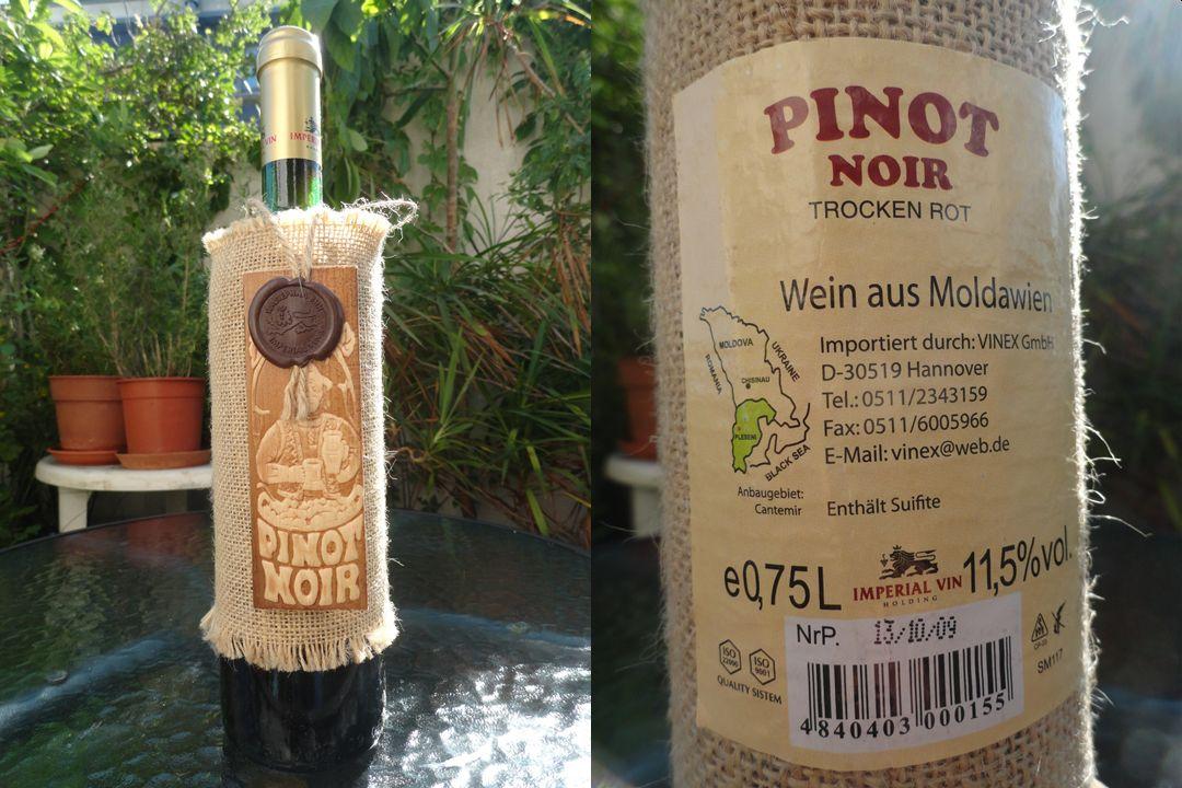 Moldovan Pinot Noir 2009